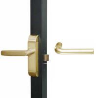 4600M-ME-521-US4 Adams Rite ME Designer Deadlatch handle in Satin Brass Finish