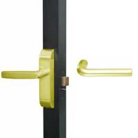 4600M-ME-611-US3 Adams Rite ME Designer Deadlatch handle in Bright Brass Finish