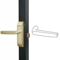 4600M-MJ-522-US4 Adams Rite MJ Designer Deadlatch handle in Satin Brass Finish