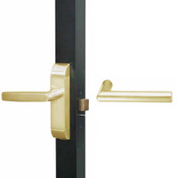 4600M-MI-521-US4 Adams Rite MI Designer Deadlatch handle in Satin Brass Finish