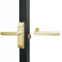 4600M-MI-651-US4 Adams Rite MI Designer Deadlatch handle in Satin Brass Finish