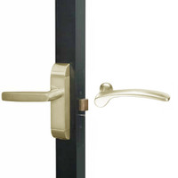 4600M-MN-632-US4 Adams Rite MN Designer Deadlatch handle in Satin Brass Finish