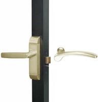 4600M-MN-641-US4 Adams Rite MN Designer Deadlatch handle in Satin Brass Finish