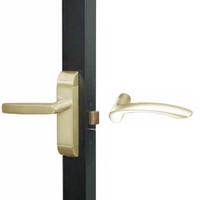 4600M-MV-651-US4 Adams Rite MV Designer Deadlatch handle in Satin Brass Finish