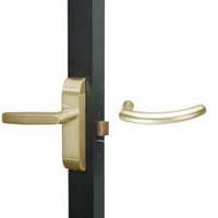 4600-MG-522-US4 Adams Rite MG Designer Deadlatch handle in Satin Brass Finish