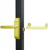 4600-MW-551-US3 Adams Rite MW Designer Deadlatch handle in Bright Brass Finish