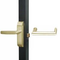 4600-MW-611-US4 Adams Rite MW Designer Deadlatch handle in Satin Brass Finish