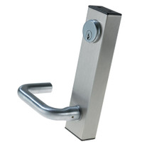3080-02-0-9U-US32D Adams Rite Standard Entry Trim with Round Lever in Satin Stainless Finish