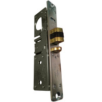 4530-16-201-313 Adams Rite Deadlatch with Flat faceplate in Dark Bronze Anodized Finish