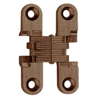 101C-US10BL Soss Invisible Hinge in Oil Rubbed Bronze Finish