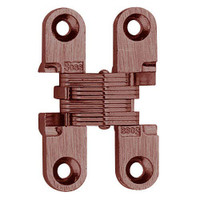 101C-US5 Soss Invisible Hinge in Antique Brass Finish