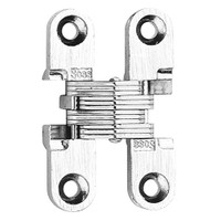 101C-WH Soss Invisible Hinge in White Finish