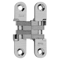 204C-US26 Soss Invisible Hinge in Bright Chrome Finish