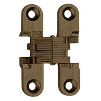 101SS-US32DPB Soss Invisible Hinge in Satin Stainless Steel Finish
