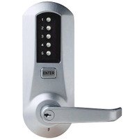 Simplex Pushbutton Lock in Bright Chrome Finish