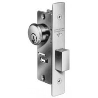 4070-20-628 Adams Rite 4070 Series Deadlock in Clear Anodized