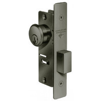 4072-35-313 Adams Rite 4072 Series Deadlock in Dark Bronze Anodized