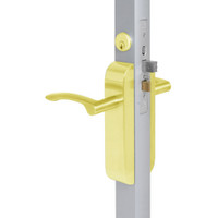 2290-411-202-03 Adams Rite Dual Force Interconnected 2290 series Deadlock/Deadlatch in Bright Brass