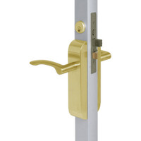 2290-412-303-04 Adams Rite Dual Force Interconnected 2290 series Deadlock/Deadlatch in Satin Brass