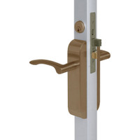 2290-412-303-10B Adams Rite Dual Force Interconnected 2290 series Deadlock/Deadlatch in Dark Bronze