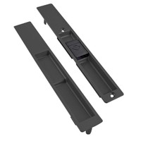 4189-10S-01-119-01-IB Adams Rite Flush Locksets in Black Anodized