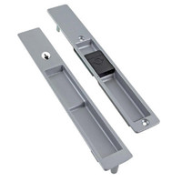 4190-09S-03-130-01-IB Adams Rite Flush Locksets in Clear Anodized