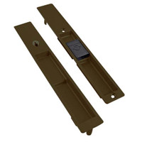 4190-10-01-121-00-IB Adams Rite Flush Locksets in Dark Bronze Anodized