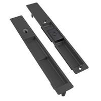 4190-10-01-119-00-IB Adams Rite Flush Locksets in Black Anodized