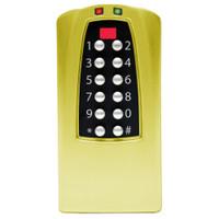 Eplex Stand-Alone Access Controller in Bright Brass Finish