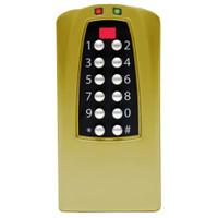 Eplex Stand-Alone Access Controller in Satin Brass Finish