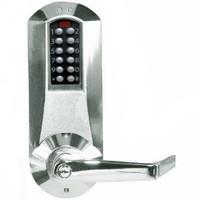 Eplex Pushbutton Lock in Bright Chrome Finish