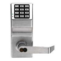 DL2700IC-M-US26D Alarm Lock Trilogy Electronic Digital Lock in Satin Chrome Finish