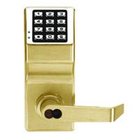 DL2700IC-Y-US3 Alarm Lock Trilogy Electronic Digital Lock in Polished Brass Finish
