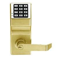 DL2700WP-US3 Alarm Lock Trilogy Electronic Digital Lock in Polished Brass Finish