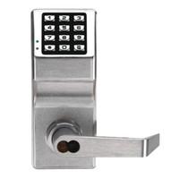 DL2700WPIC-M-US26D Alarm Lock Trilogy Electronic Digital Lock in Satin Chrome Finish