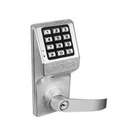 DL2875IC-US26D Alarm Lock Trilogy Electronic Digital Lock in Satin Chrome Finish