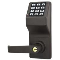 DL3000WPIC-Y-US10B Alarm Lock Trilogy Electronic Digital Lock in Duronodic Finish