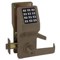 DL5200-US10B Alarm Lock Trilogy Electronic Digital Lock in Duronodic Finish