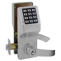 DL5375-US26D Alarm Lock Trilogy Electronic Digital Lock in Satin Chrome Finish