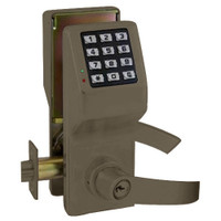 DL5375-US10B Alarm Lock Trilogy Electronic Digital Lock in Duronodic Finish