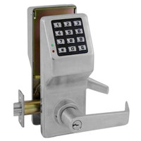 DL5300IC-US26D Alarm Lock Trilogy Electronic Digital Lock in Satin Chrome Finish