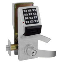 PDL5375-US26D Alarm Lock Trilogy Electronic Digital Lock in Satin Chrome Finish