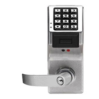 PDL3075IC-S-US26D Alarm Lock Trilogy Electronic Digital Lock in Satin Chrome Finish