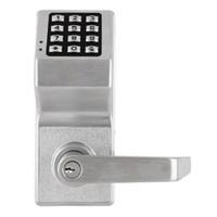 DL4100IC-M-US26D Alarm Lock Trilogy Electronic Digital Lock in Satin Chrome Finish