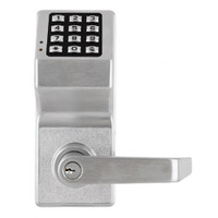 DL4100IC-S-US26D Alarm Lock Trilogy Electronic Digital Lock in Satin Chrome Finish