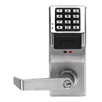PDL4100IC-US26D Alarm Lock Trilogy Electronic Digital Lock in Satin Chrome Finish
