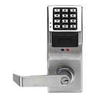 PDL4100IC-M-US26D Alarm Lock Trilogy Electronic Digital Lock in Satin Chrome Finish