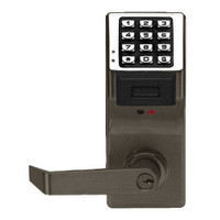 PDL4100IC-S-US10B Alarm Lock Trilogy Electronic Digital Lock in Duronodic Finish