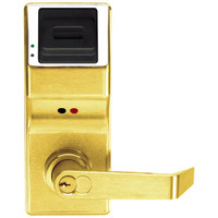 PL3000IC-R-US3 Alarm Lock Trilogy Electronic Digital Lock in Polished Brass Finish
