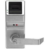 PL3000IC-Y-US26D Alarm Lock Trilogy Electronic Digital Lock in Satin Chrome Finish